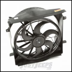 Omix-ADA Radiator Fan Assembly For 2004-06 Jeep Liberty With 3 Pin Connectors 17102.60
