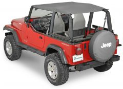 QuadraTop Bimini Top Plus for 92-95 Jeep Wrangler YJ 11022YJ-