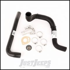 Omix-ADA Cooling Kit With Radiator Hoses, Thermostat Housing & Gasket & Hose Clamps For 1997-02 Jeep Wranlger TJ With 2.5Ltr 17118.27