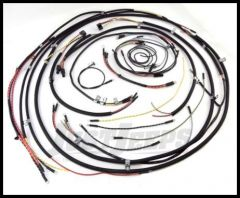 Omix-ADA Wiring Harness Cloth For Early CJ2A Turn signal wires not included 17201.01