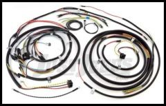 Omix-ADA Wiring Harness For 1948-53 Jeep CJ3A Exact Fit Cloth (Includes Turn Signal Wires, Non Military) 17201.06