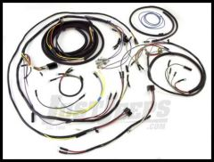 Omix-ADA Wiring Harness For 1957-64 Jeep CJ3B Exact Fit Plastic (Includes Turn Signal Wires, Non Military, For use With Large Speedometer)) 17201.08