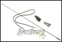 Omix-ADA Antenna Mast & Base Black Kit For 1976-95 CJ Series & Wrangler 17214.02