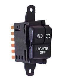 Omix-ADA Headlight Switch For 1987-95 Jeep Wrangler YJ 17234.05