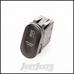 "Rugged Ridge Black ""Off-Road Lights"" 2-Position Rocker Switch 17235.09"