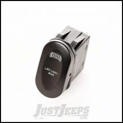"Rugged Ridge Black ""Led Light Bar"" 2-Position Rocker Switch 17235.10"