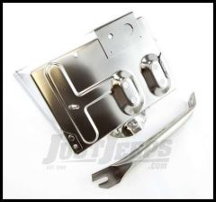 Omix-ADA Battery Tray Stainless Steel For 1976-86 Jeep CJ Series 17260.01