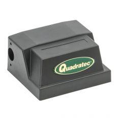 Quadratec Solenoid Cover in Black for Remote Solenoid Q Series Winches 92123.6003