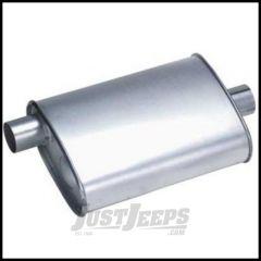DynoMax Muffler Ultra Flo Stainless Steel For 1991-99 Jeep Wrangler YJ & TJ 17282