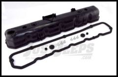 Omix-ADA Valve Cover For 1981-86 Jeep CJ Series With 6 Cyl & (Plastic Valve Cover with Rubber Gasket) 17401.05