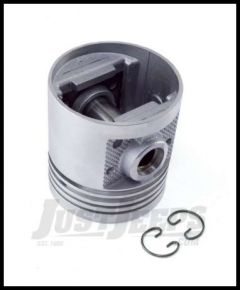 Omix-ADA Piston With Pin For 1948-63 Jeep CJ Series With 6 CYL 226 Standard Size 17427.13
