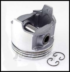 Omix-ADA Piston With Pin For 1979-90 CJ Series, Wrangler YJ & Full Size With 6 Cyl 4.2L Standard Size 17427.21