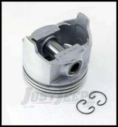 Omix-ADA Piston With Pin For 1979-90 CJ Series, Wrangler YJ & Full Size With 6 Cyl 4.2L .020 Oversized 17427.22