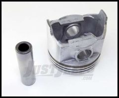 Omix-ADA Piston With Pin For 1979-90 CJ Series, Wrangler YJ & Full Size With 6 Cyl 4.2L .030 Oversized 17427.29