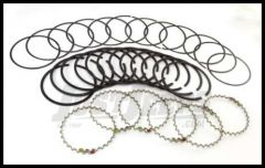 Omix-ADA Piston Ring Set For 1987-93 Jeep Wrangler YJ, Grand Cherokee & Cherokee XJ With 2.5L &4.0L Standard Size 17430.07