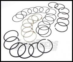 Omix-ADA Piston Ring Set For 1983-93 Jeep CJ Series, Wrangler YJ & Cherokee XJ With 2.5L Standard Size 17430.09
