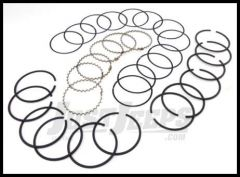 Omix-ADA Piston Ring Set For 1983-93 Jeep CJ Series, Wrangler YJ & Cherokee XJ With 2.5L .010 Oversized 17430.10