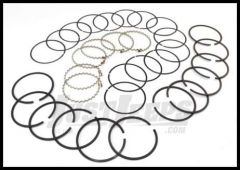Omix-ADA Piston Ring Set For 1983-93 Jeep CJ Series, Wrangler YJ & Cherokee XJ With 2.5L .030 Oversized 17430.12