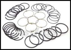 Omix-ADA Piston Ring Set For 1948-63 Jeep CJ Series With 6 CYL 226 .040 Oversized 17430.17