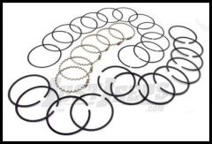 Omix-ADA Piston Ring Set For 1968-90 CJ Series, Wrangler YJ & Full Size With 232 or 258(4.2L) Standard Size 17430.19