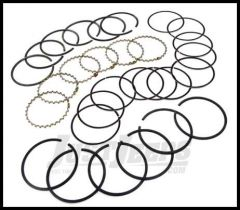 Omix-ADA Piston Ring Set For 1971-91 CJ Series & Full Size With 8 CYL AMC 304 .020 Oversized 17430.29