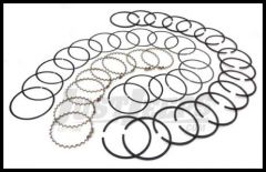 Omix-ADA Piston Ring Set For 1971-91 CJ Series & Full Size With 8 CYL AMC 304 .030 Oversized 17430.30
