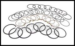 Omix-ADA Piston Ring Set For 1971-91 CJ Series & Full Size With 8 CYL AMC 360 .010 Oversized 17430.32