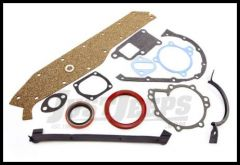 Omix-ADA Lower Engine Gasket Set For 1980-83 CJ series With 2.5L GM engine 17442.01