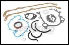 Omix-ADA Lower Engine Gasket Set For 1971-92 Jeep CJ Series & Full Size With 8 CYL 304/360/401 17442.07
