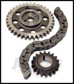 Omix-ADA Timing Chain Kit For 1965-90 Jeep CJ Series & Wrangler YJ With 6 Cyl (With Nylon Cam Gear) 3240502NK