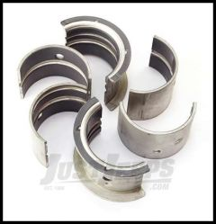 Omix-ADA Bearing Set Main For 1941-71 M & CJ Series With 4 CYL 134, .080 Oversized 17465.09