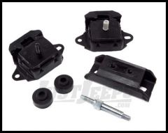Omix-ADA Engine & Transmission Mount Kit For 1974-86 Jeep CJ Series & Full Size With 6 CYL 258 17474.03
