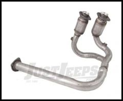 Omix-ADA Downpipe With Catalytic Converters For 2001-03 Jeep Wrangler TJ With 4.0L 17613.22