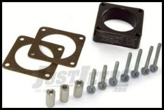 Rugged Ridge Throttle Body Spacer 4 or 6 cyl. 1991-06 Wrangler YJ, TJ and XJ Cherokee 17755.01