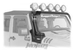 Rugged Ridge Modular XHD Snorkel Kit For 2012-18 Jeep Wrangler JK 2 Door & Unlimited 4 Door Models With 3.6L Engines 17756.21