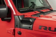 Rugged Ridge XHD Snorkel System Low Mount Snorkel System For 2018+ Jeep Gladiator JT & Wrangler JL 2 Door & Unlimited 4 Door Models 17756.35