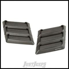 Rugged Ridge Performance Hood Vents For 1997-18 Jeep Wrangler TJ/JK 2 Door & Unlimited 4 Door Models 17759.09