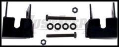 Rugged Ridge Rear Control Arm Skid Plates in Black For 2007-18 Jeep Wrangler JK 2 Door & Unlimited 4 Door Models 18003.36