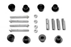 Warrior Products Replacement Greaseable Shackle Bolts and Bushing Kit For 1976-86 Jeep CJ Series 1802A