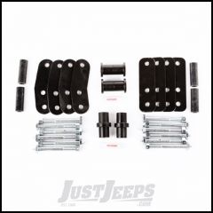Rugged Ridge Greaseable HD Leaf Spring Shackle Kit For 1987-95 Jeep Wrangler YJ 18265.22