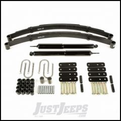Omix-ADA Front Leaf Spring Kit For 1987-95 Jeep Wrangler YJ With HD Shocks With HD Shackles 18290.09