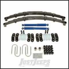 Omix-ADA Rear Leaf Spring Kit For 1987-95 Jeep Wrangler YJ With HD Shocks With HD Shackles 18290.11