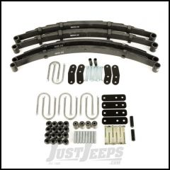 Omix-ADA Complete Leaf Spring Kit For 1987-95 Jeep Wrangler YJ Without Shocks With HD Shackles 18290.12