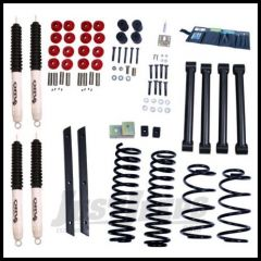"Rugged Ridge ORV 2"" Suspension System With Shocks For 2003-06 TJ Wrangler and Rubicon 18415.31"