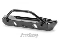 Poison Spyder Customs Crawler Front Bumper For 2018+ Jeep Gladiator JT & Wrangler JL 2 Door & Unlimited 4 Door Models 19-58-010DBP1
