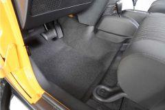 Bedrug BedTred Premium Molded Front Floor Covering for 07-18 Jeep Wrangler JK 2 Door BTJK07-