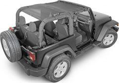SpiderWebShade Top for 07-18 Jeep Wrangler JK 2 Door SW1-JK-2D-
