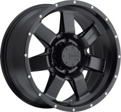 Mamba Offroad M14 Wheel in Black for 07-18 Jeep Wrangler JK and 99-18 Grand Cherokee WJ, WK, & WK2 M14-