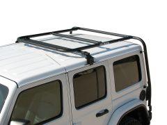Garvin Wilderness Adventure Rack Half For 2018+ Jeep Wrangler JL Unlimited 4 Door Models w/ Factory Hardtop