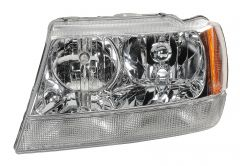 Quadratec Driver Side Head Lamp Housing for 99-04 Jeep Grand Cherokee WJ Limited Models 55022.0027